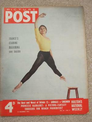 Picture Post Magazine Ballet Jeanmaire News Stories Adverts 1954
