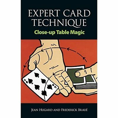 Expert Card Technique: Close-up Table Magic (Cards, Coi - Paperback NEW Hugard,