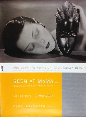 "MAN RAY ""SEEN at MoMA"". PLAKAT GALERIE KICKEN 2004"
