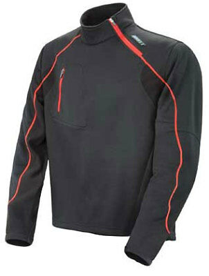 Joe Rocket Full Blast Mid Layer Pullover Black
