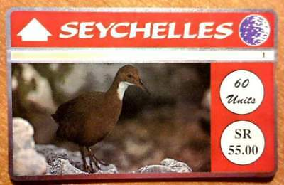 Seychelles - Sey 27 - White-Throated Rail - 60 U - N° 405A