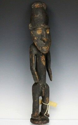 Vintage Yuat River Papua New Guinea Hand Carved Wood Nude Figure Statue NR SLG