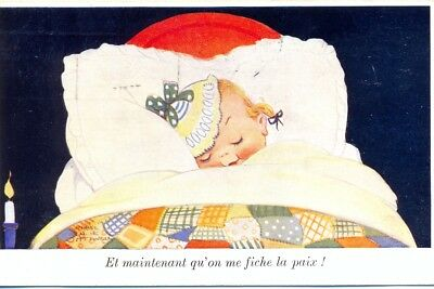 "Carte postale humoristique ancienne : 1935 collection ""Valentine's"" N°114"