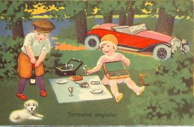 "Carte postale humoristique ancienne : 1935 collection  ""Amag"" N° 1529"