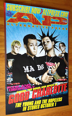 GOOD CHARLOTTE 24x36 official AP Epic promo poster record store display original