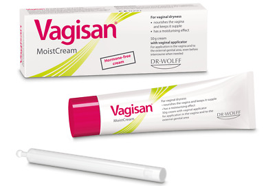 Vagisan MoistCream Hormone Free Vaginal Dryness Facilitate Sexual Intercourse UK