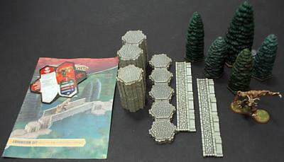 WOTC HeroScape Loose Fig Road to the Forgotten Forest - Complete Expansion  NM