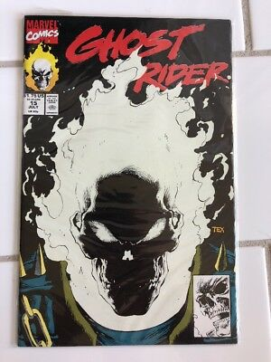Ghost Rider 15 Marvel Glow in the dark cover july 1991