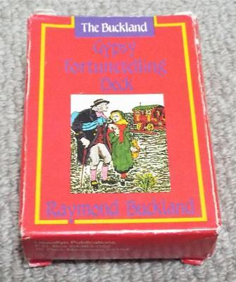 The Buckland Gypsy Fortune Telling Vintage 1989 Box Set of Cards & Booklet