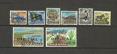 Kut Tanzania ~ 1965 Official (Part Used Set)