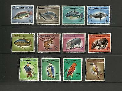 Guyana ~ 1968 Fauna Definitives (Part Set)