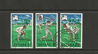 GUYANA ~ 1968 M.C.C.'s WEST INDIES TOUR (USED SET)