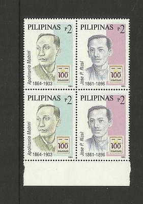 Philippines ~ 1995 Centenary Of Declaration Independence (Rizal & Mabini)