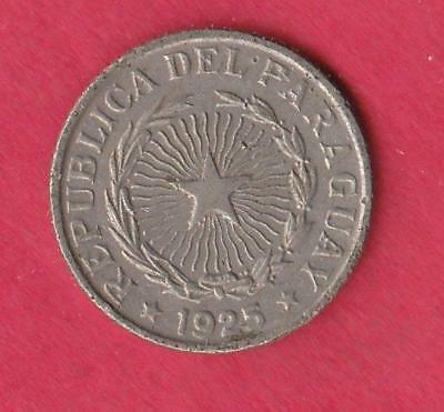 1925 Paraguay 50 centavos- one year type coin, inv#8513