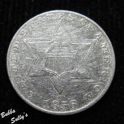 1856 III Cent Silver <> EXTREMELY FINE