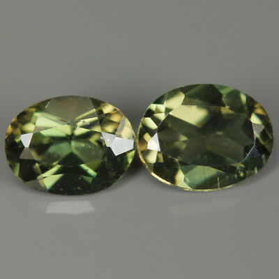 0.80 Ct Natural Unheated Greenish Yellow KORNERUPINE Oval Gem @ See Video !!