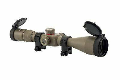 4-16x50 First Focal Plane FFP Rifle Scope Mil-Dot Reticle Adjustable Objective T