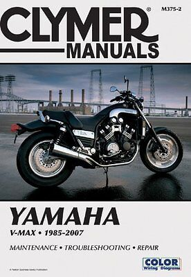Yamaha V Max 1985-2007 Clymer Owners Service & Repair Manual VMX12