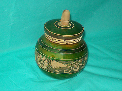 San Jose Del Cabo Signed & Dated Mexico Wooden Box/ Trinket Box