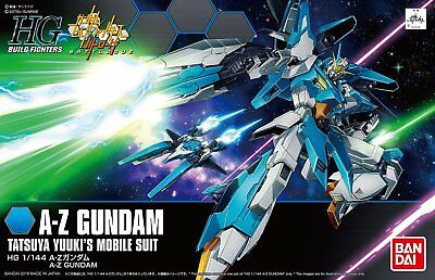HG BF Build Fighters Try Tatsuya Yuuki's A-Z Gundam 1/144 model kit Bandai