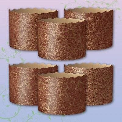 6 Easter Bread Parchment Baking Paper Molds Forms Paska Kulich Panettone Italian