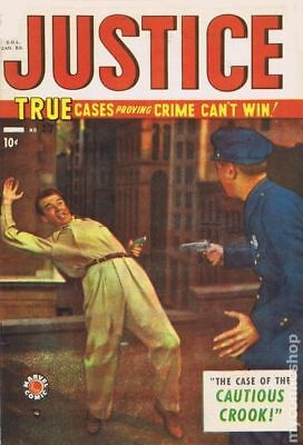 Justice Comics Canadian Edition #17 1950 GD+ 2.5