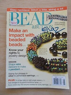 Bead & Button #80~Jewellery~Peyote~Crystal~Metal Clay~Weave~Leaves~Bugle....