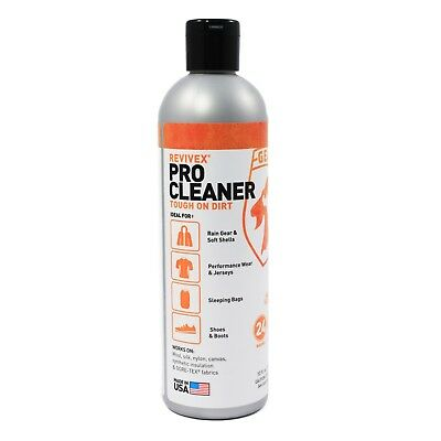 Gear Aid ReviveX Pro Cleaner 4x Concentrate Outdoor Equipment Clothing - 12 oz
