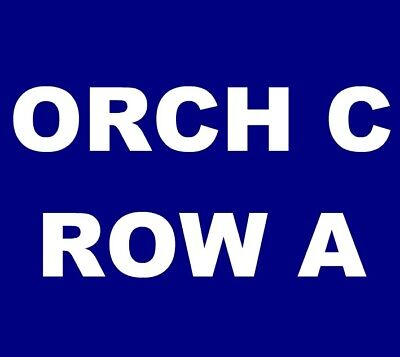 John Prine tickets Denver Temple Hoyne Buell Theatre 11/10 ***ORCH C, ROW A!***