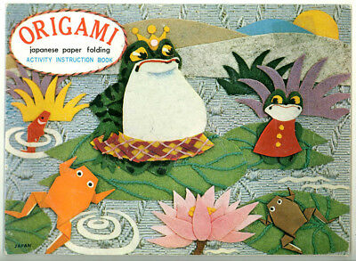 Origami - Japanese Paper Folding Activity Instruction Book Plus Paper