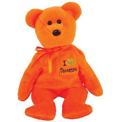 TY Beanie Baby - TENNESSEE the Bear (I Love Tennessee - State Excl) (8.5 inch)
