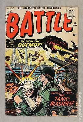 Battle (Atlas) #64 1959 VG 4.0