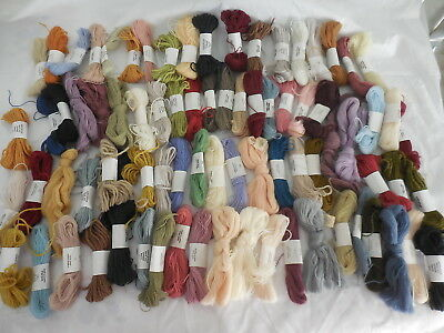 Appleton England Tapestry Wool Lot 0F 81