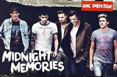 One Direction : Midnight Memories - Maxi Poster 91.5cm x 61cm new and sealed