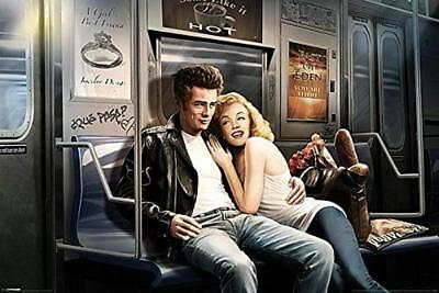 Subway Ride : Monroe and Dean - Maxi Poster 91.5cm x 61cm new and sealed