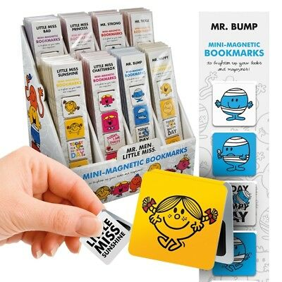 Mr Men and Little Miss Magnetic Page Markers