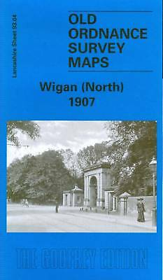 Old Ordnance Survey Map Wigan (North) 1907
