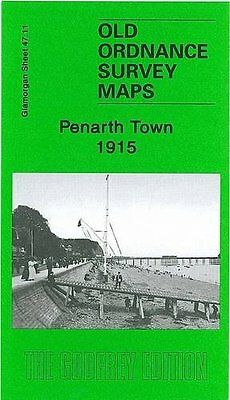 Old Ordnance Survey Map Penarth Town 1915