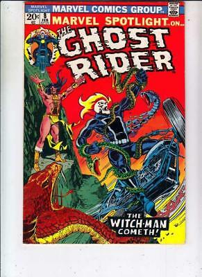 Marvel Spotlight on Ghost Rider # 8 strict VF/NM+ 1st   appearance Snake Dance