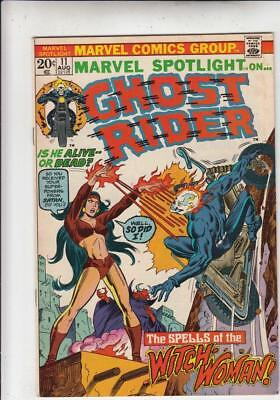 Marvel Spotlight on Ghost Rider # 11 strict VF/NM appearance Witch-Woman