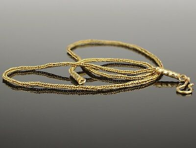 STUNNING ROMAN GOLD NECKLACE - CIRCA 2nd  Century AD