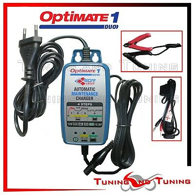 Caricabatterie Moto Piombo Acido Litio Optimate 1 Duo (450152)