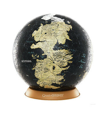 Game of Thrones 3D Globe Puzzle Unknown World (60 Teile) NEU & OVP