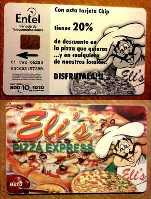 Bolivie - Carte A Puce - Eli's Pizza Express