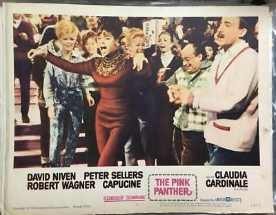 Peter Sellers Claudia Cardinale dancing The Pink Panther 1963 # 8 lobby card 117