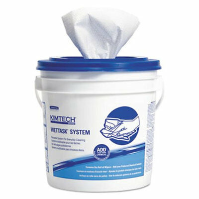 Kimberly-Clark Kimtech 12-1/2 x 12 in. Wiper for Solvents in White (Case of 6)