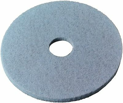 "3M 27"" Burnish Pad, Aqua (Blue) 5 Pads per Case"