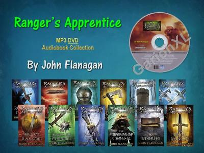 The Complete RANGER'S APPRENTICE Series By John Flanagan (12 MP3 Audiobooks)