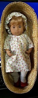 "12"" Vintage 514 Sasha Baby Rosie Honey Hair Doll, Made In England"