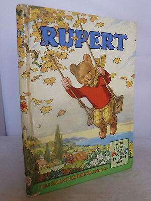 Rupert Annual 1961 HB - Unclipped - In Good Condition